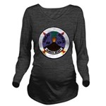 USS GREAT SITKIN Long Sleeve Maternity T-Shirt