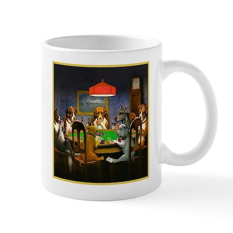 Poker Dogs Friend Mug