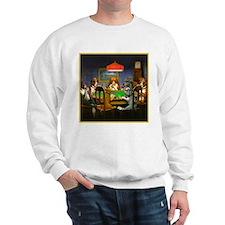 Poker Dogs Friend Sweatshirt