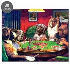 Poker Dogs Bluff Puzzle