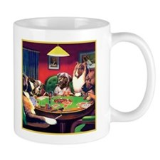 Poker Dogs Bluff Mug
