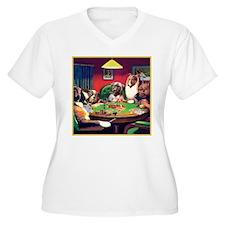 Poker Dogs Bluff T-Shirt