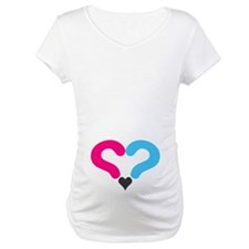 Maternity Question Mark Heart Shirt