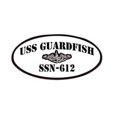 USS GUARDFISH Patches