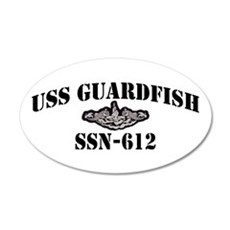 USS GUARDFISH Wall Decal