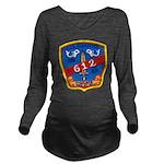 USS GUARDFISH Long Sleeve Maternity T-Shirt