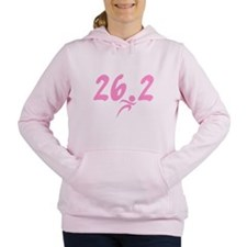 Pink 26.2 marathon Women's Hooded Sweatshirt