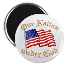 One Nation under God Magnet