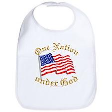 One Nation under God Bib