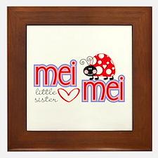 Mei Mei Framed Tile