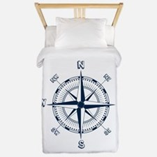 Nautical Compass Twin Duvet