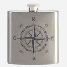 Nautical Compass Flask