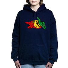 Tricia Turtle Women's Hooded Sweatshirt