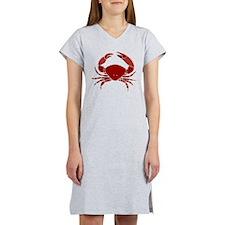 Crab Women's Nightshirt