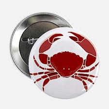 """Crab 2.25"""" Button"""