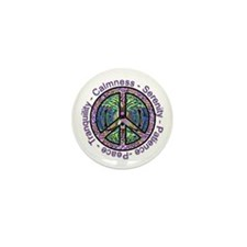 Serenity Patience Calmness Tranquility Mini Button