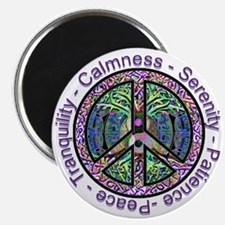 Serenity Patience Calmness Tranquility Magnets