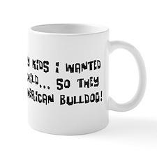 Grandchild American Bulldog Mug
