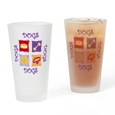 DOGS Drinking Glass