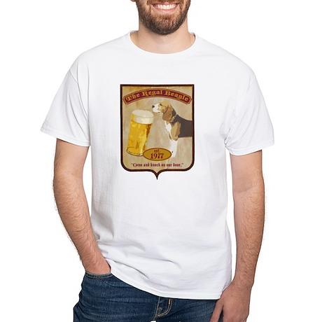 Regal Beagle White T-Shirt