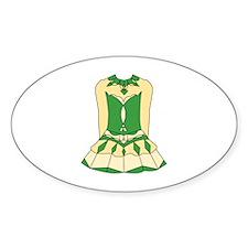 St. Patricks Irish Dress Decal