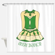 Irish Dance Shower Curtain