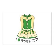 I Love Irish Dance Postcards (Package of 8)