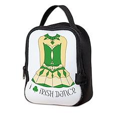 I Love Irish Dance Neoprene Lunch Bag