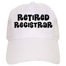 Retired registrar Baseball Baseball Cap