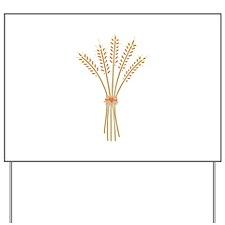 Wheat Bundle Yard Sign