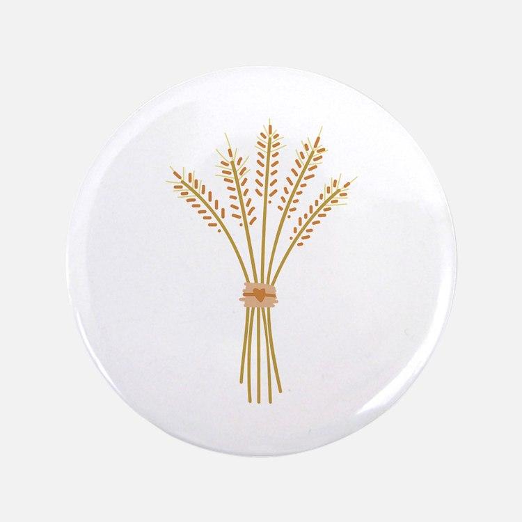 """Wheat Bundle 3.5"""" Button"""