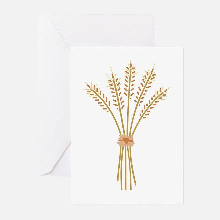 Wheat Bundle Greeting Cards