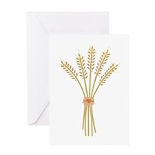 Wheat Bundle Greeting Cards