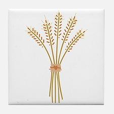 Wheat Bundle Tile Coaster