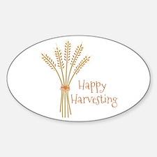 Happy Harvesting Decal