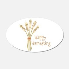 Happy Harvesting Wall Decal