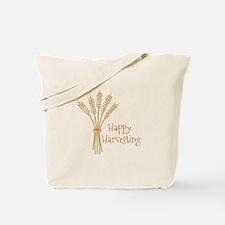Happy Harvesting Tote Bag
