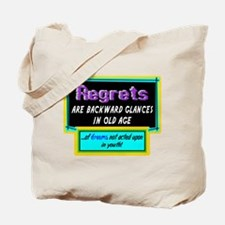 Regrets Tote Bag