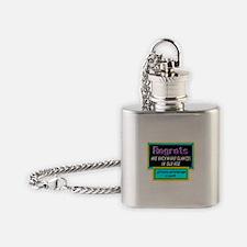 Regrets Flask Necklace