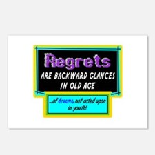 Regrets Postcards (Package of 8)