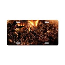 the horde Aluminum License Plate