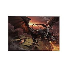 dragon rider 2 Rectangle Magnet