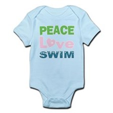 peace.love.swim Body Suit