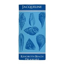Personalized Sea Shell Beach Towel