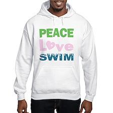 peace.love.swim Hoodie