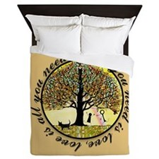 All you need is love. Queen Duvet