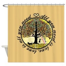 All You Need Is Love. Shower Curtain