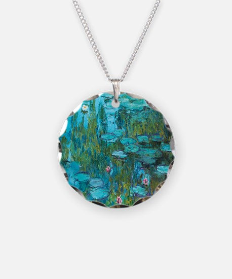 Water Lilies by Monet Necklace