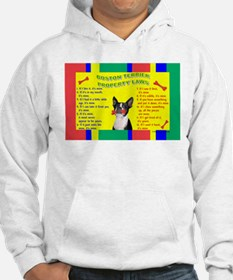 Boston Terrier Property Laws Hoodie
