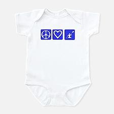 Peace Love Kayaking Infant Bodysuit